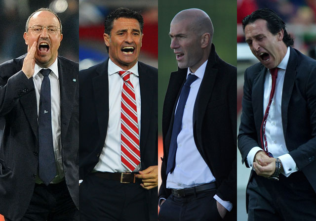 Los candidatos al banquillo del Real Madrid