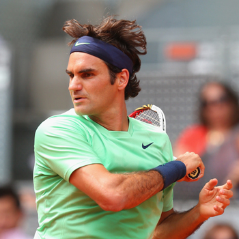 Nishikori se carga a Federer en Madrid