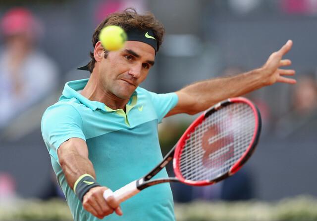 Federer se despide de Madrid