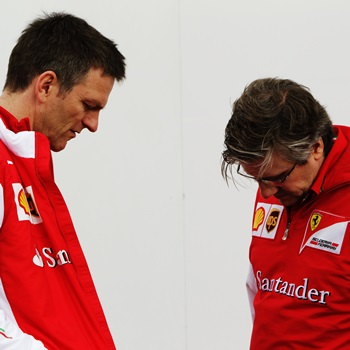 Desoladoras primeras pruebas del Ferrari de 2015