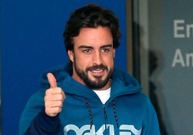 Fernando Alonso sale del hospital y no estará en los test