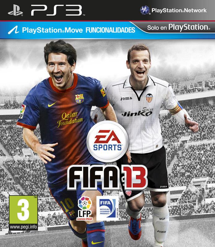 Roberto Soldado acompaña a Messi como imagen del FIFA 13 en España