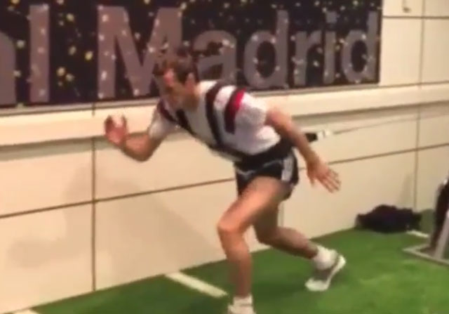 """Bale: """"No puedo esperar para volver"""""""