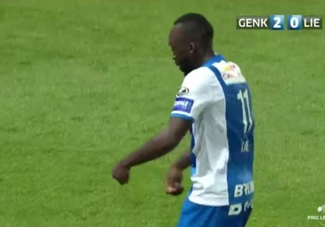El increíble gol fantasma del Genk