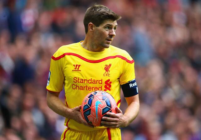 Gerrard alcanza los 500 partidos en la Premier con el Liverpool
