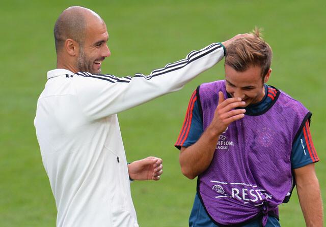 El agente de Götze carga contra Guardiola
