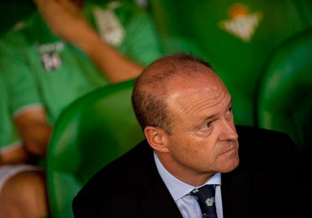 Pepe Mel, entrenador del Betis