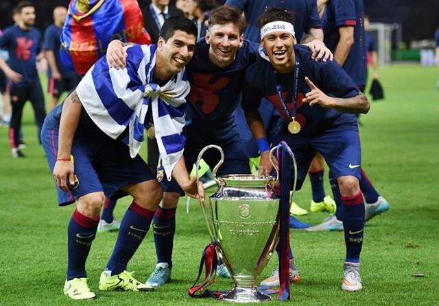 Amargo final de temporada para el tridente del Barça