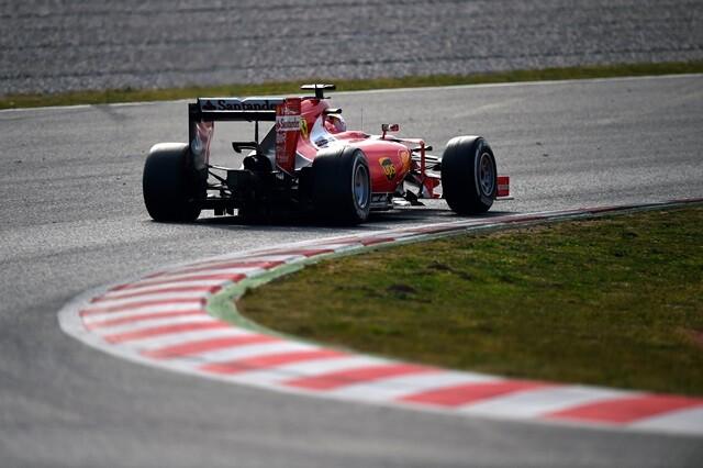 Vettel Barcelona