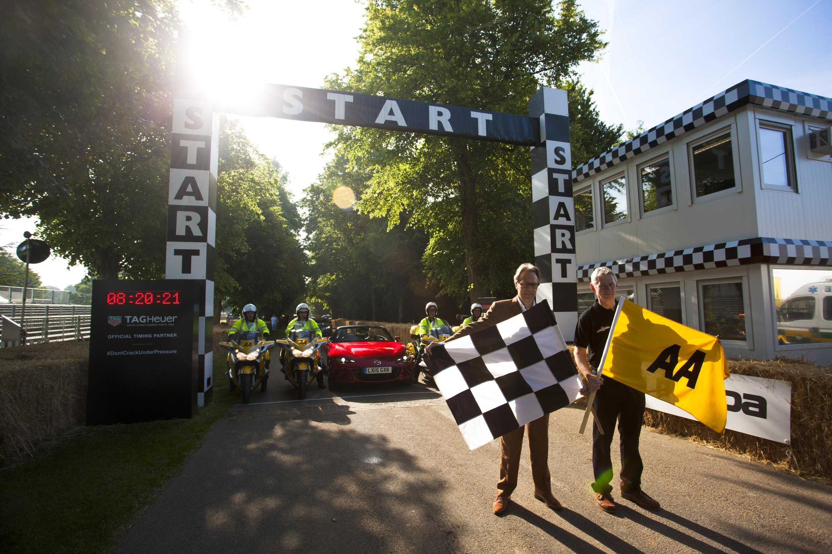 Las mejores fotos del Goodwood Speed Festival 2015