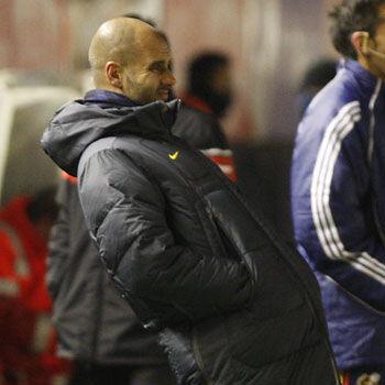 Guardiola critica la primera parte de su equipo