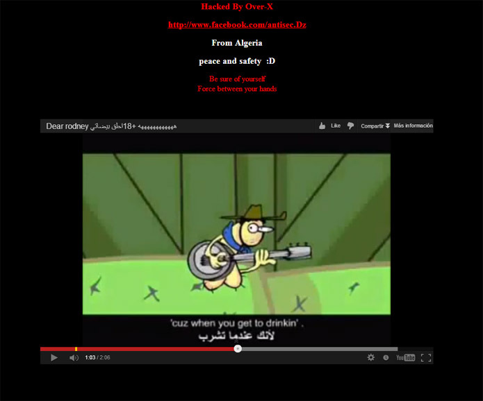 Hackean de nuevo la web del getafe sportyou for Oficinas getafe cf
