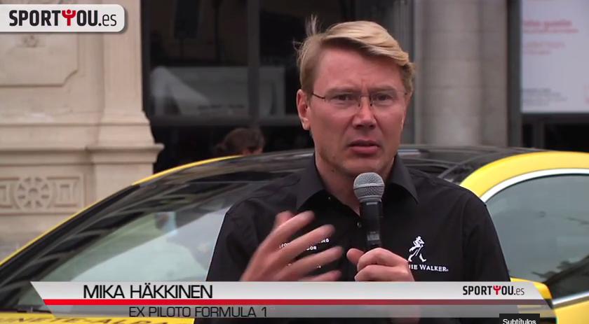 Hakkinen te invita a firmar contra el alcohol al volante