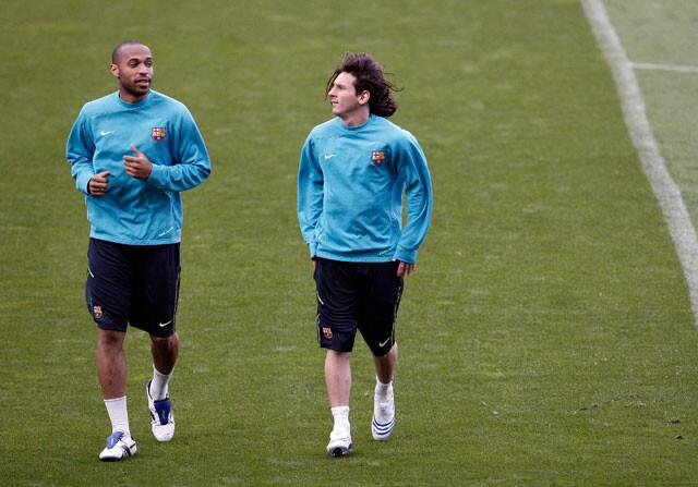 La genial confidencia de Henry sobre Messi