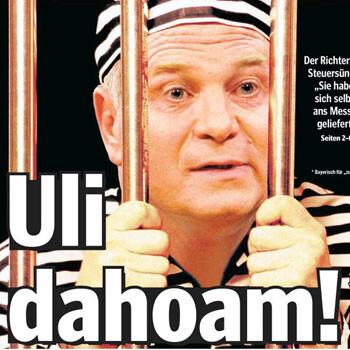Uli Hoeness en la cárcel