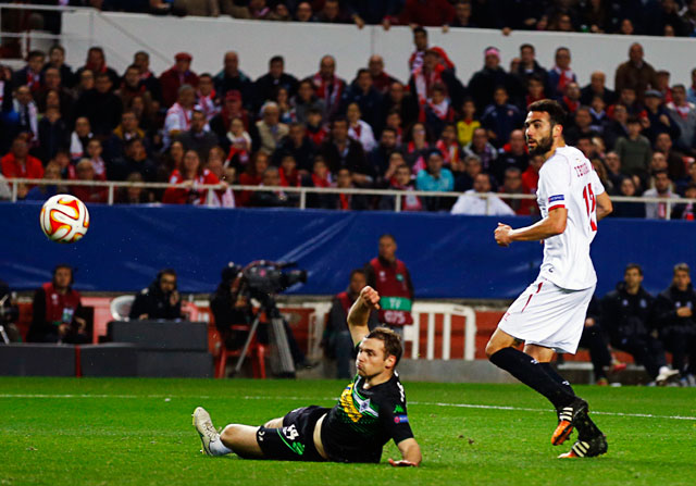 El gol de Vicente Iborra