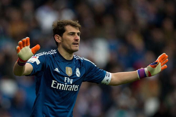 """Casillas: """"Soy cabezota y me veo fuerte"""""""