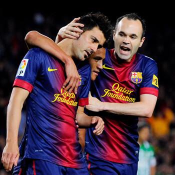 Los jugadores del Barça lo celebran en las redes sociales