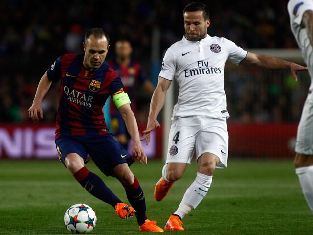 La UEFA no incluye a Iniesta en su once de la vuelta de cuartos