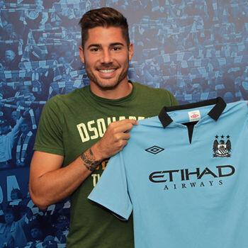 Javi Garcia al Manchester City