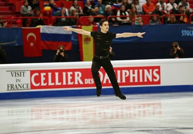 Javier Fernández logra en Estocolmo su tercer título europeo