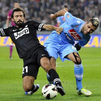Ancelotti quiere a Borja Valero y Pirlo si va al Madrid, según la 'Gazzetta'