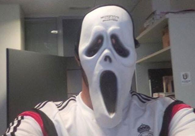 Foto: el Halloween de Karim Benzema