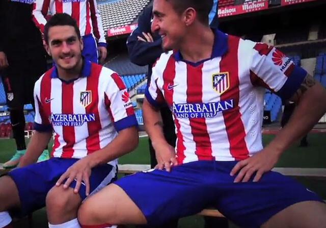 Así se hizo la foto oficial del Atlético de Madrid