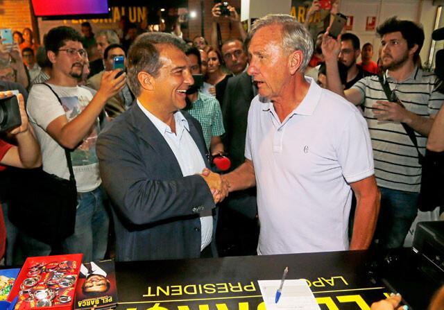 """Johan Cruyff: """"La Masía puede cerrar"""""""