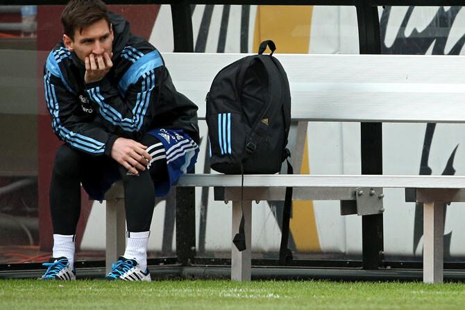 La misteriosa lesión de Messi