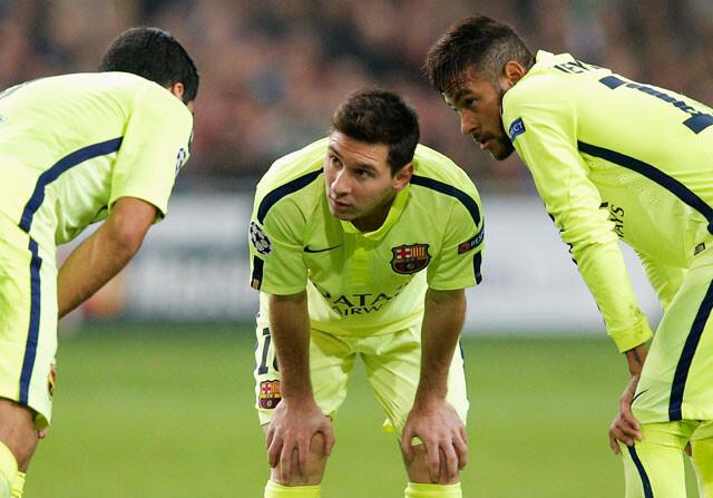 ¿Cuál es el mejor tridente de la última década en el Barça?