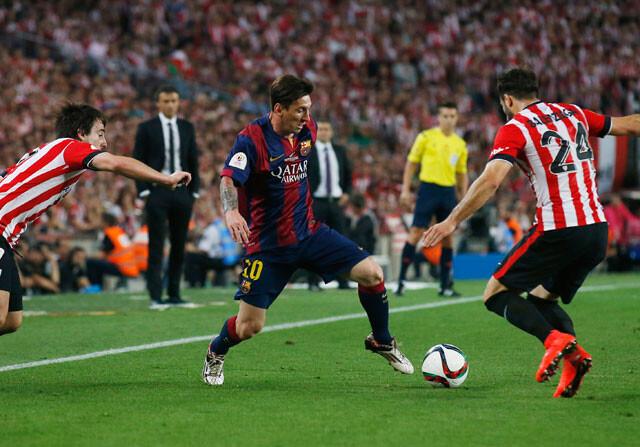Otra obra de arte de Leo Messi