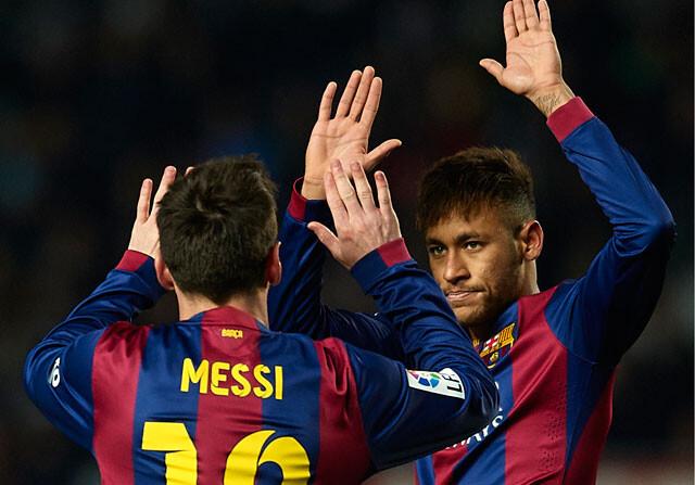 El Barcelona barre al Elche al ritmo de Neymar