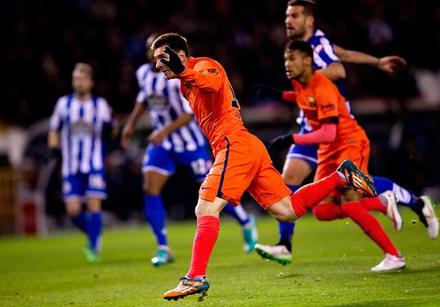 La mala racha que salvó Leo Messi