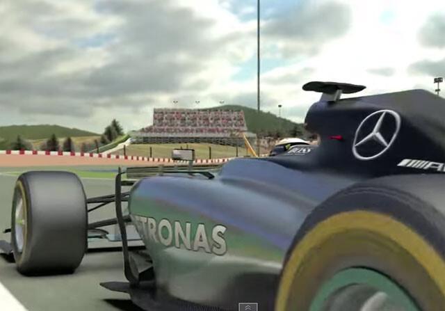 Lewis Hamilton ya 'corre' el GP de España