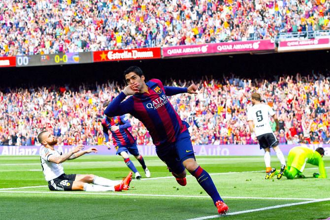 El Barcelona las pasa canutas ante el Valencia