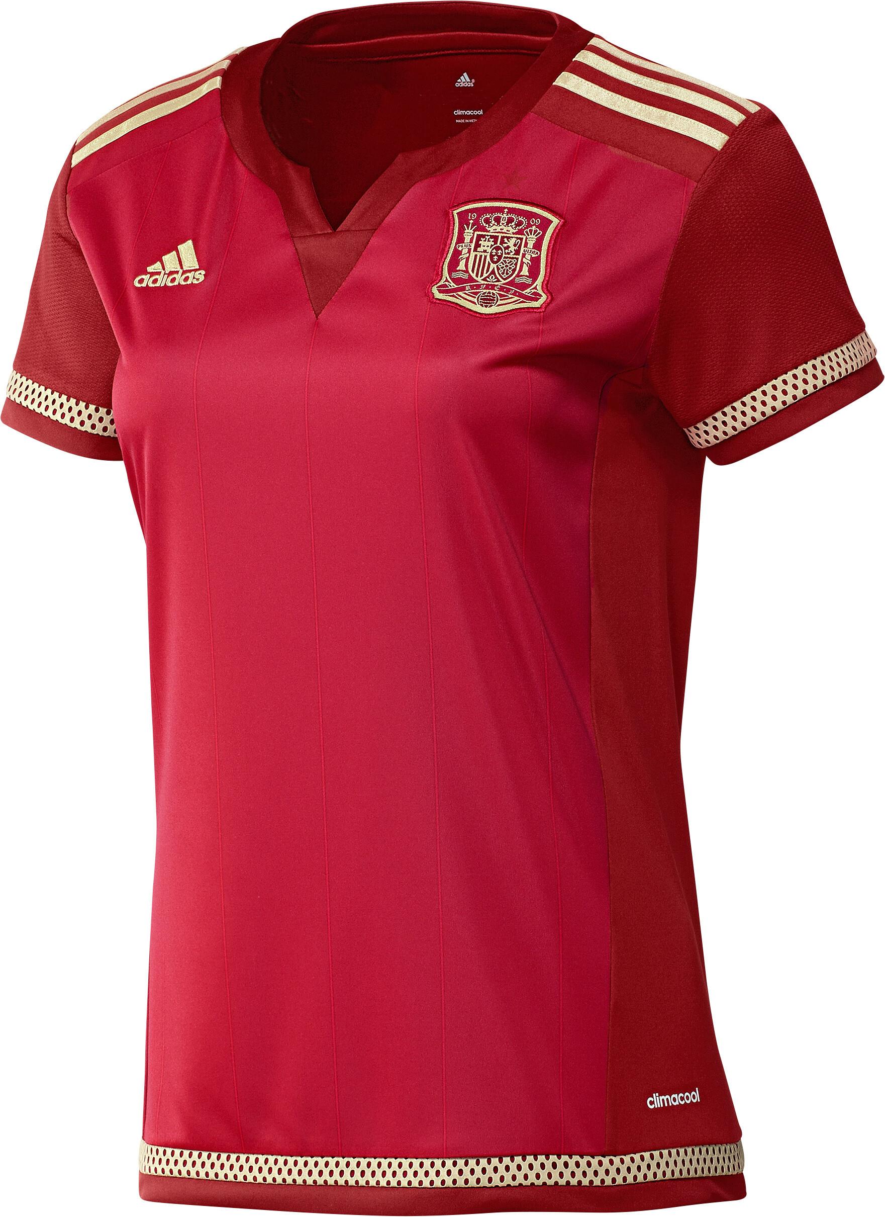 nueva camiseta de entrenamiento seleccion española