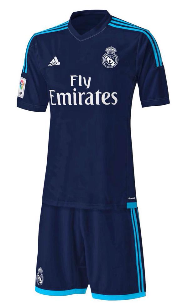 Se filtran las posibles tres equipaciones del Real Madrid 2015-16 ... 347e760af56