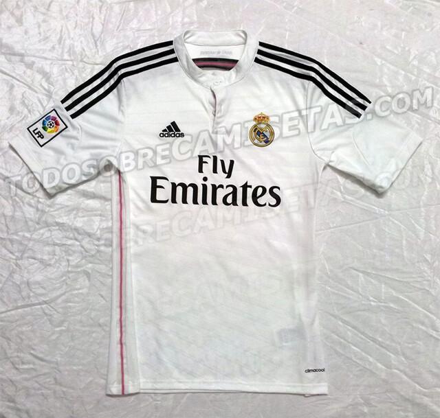 aca0a10140166 Desveladas las posibles camisetas del Real Madrid 2014-15
