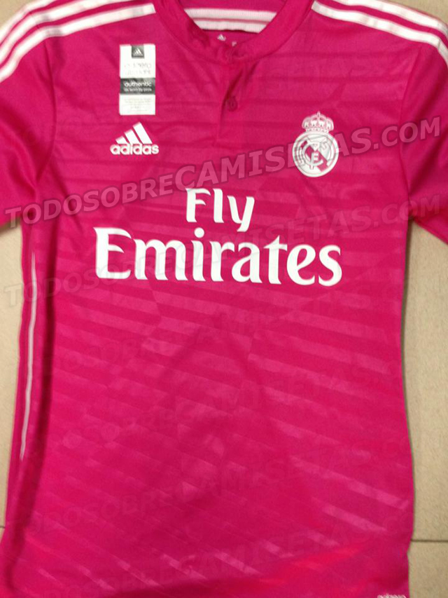 Desveladas las posibles camisetas del Real Madrid 2014 15