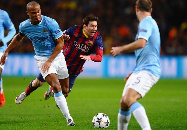 Manchester City - FC Barcelona en directo