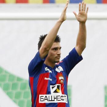 Mark González, jugador de CSKA Moscú
