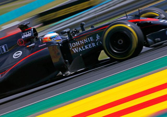 Alonso y Button llevan a McLaren a los puntos por eliminación en el GP de Hungría