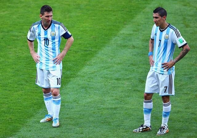 Di María, mejor que Messi para la prensa argentina