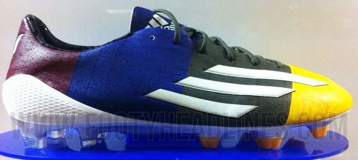 Las nuevas botas Adizero F50 blaugranas de Messi 94f4e2a5f0a24