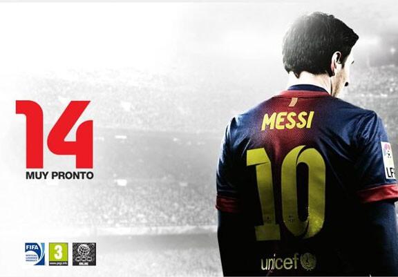 Leo Messi será la imagen del videojuego FIFA 14