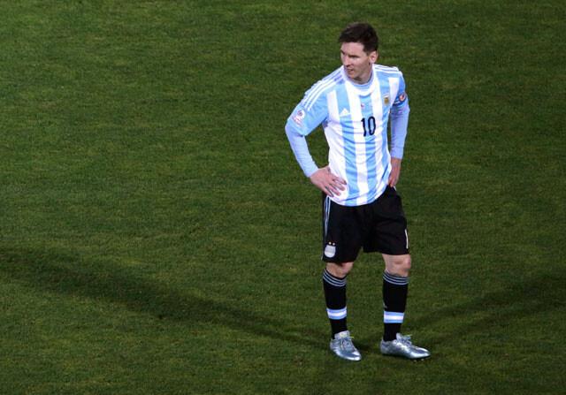 El hermano de Messi, agredido durante la final de la Copa América