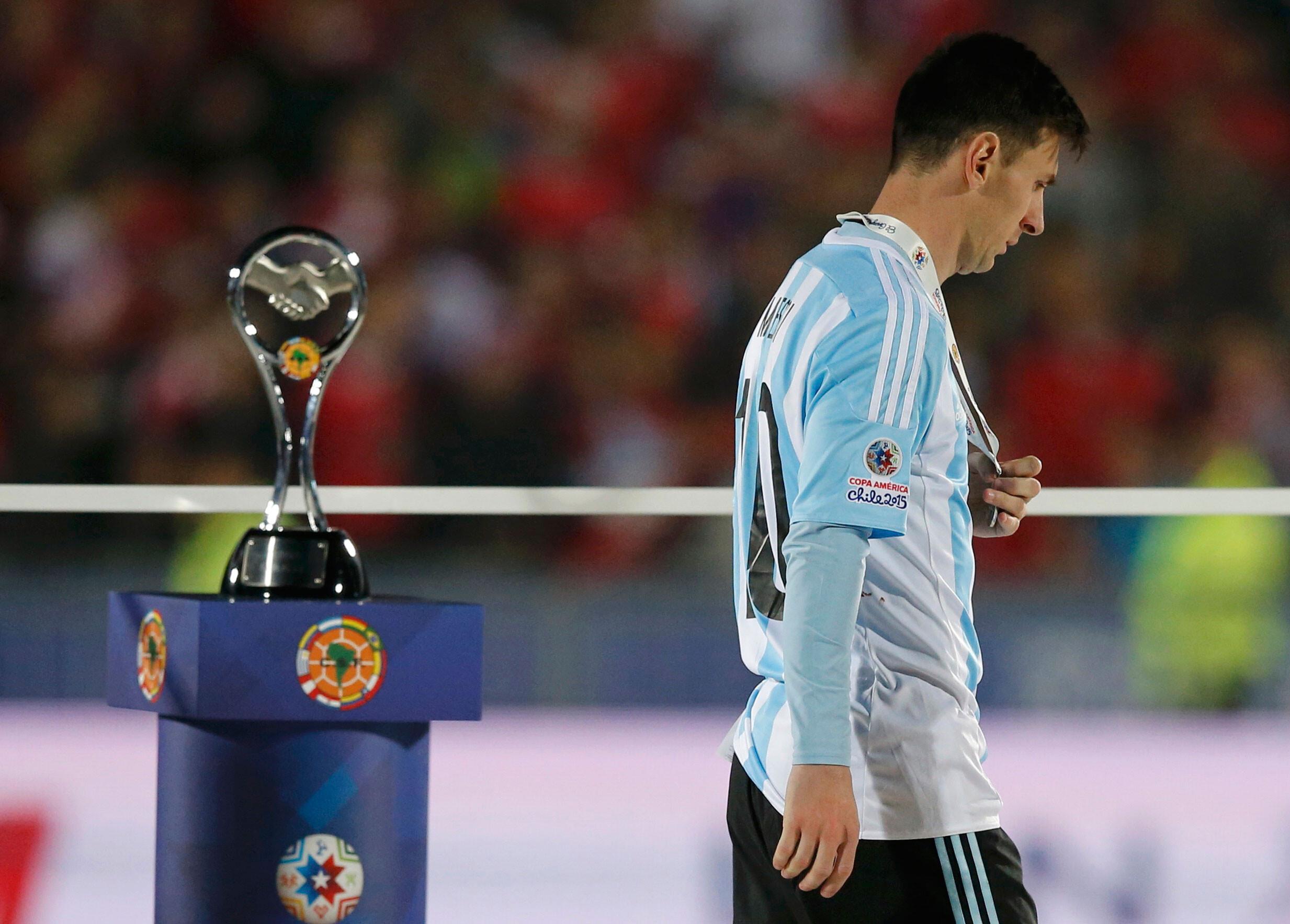 """Messi: """"No hay nada más doloroso que perder una final"""""""