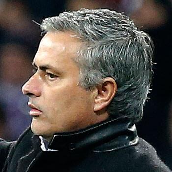 José Mourinho, entrenador del Real Madrid
