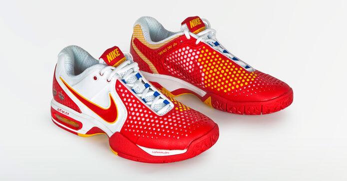 Las zapatillas de Rafa Nadal para la final de la Copa Davis